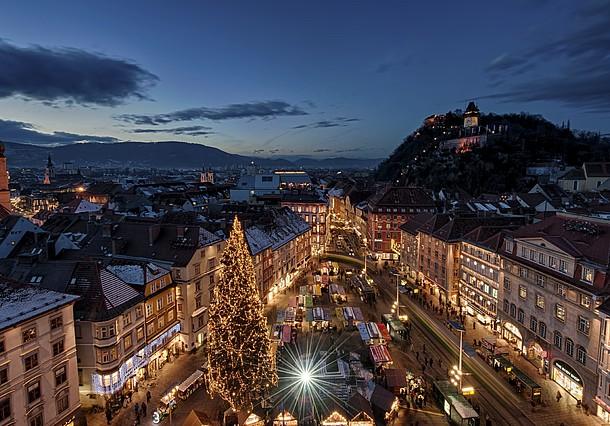 """""""Božična želja"""" in Advent v Grazu"""